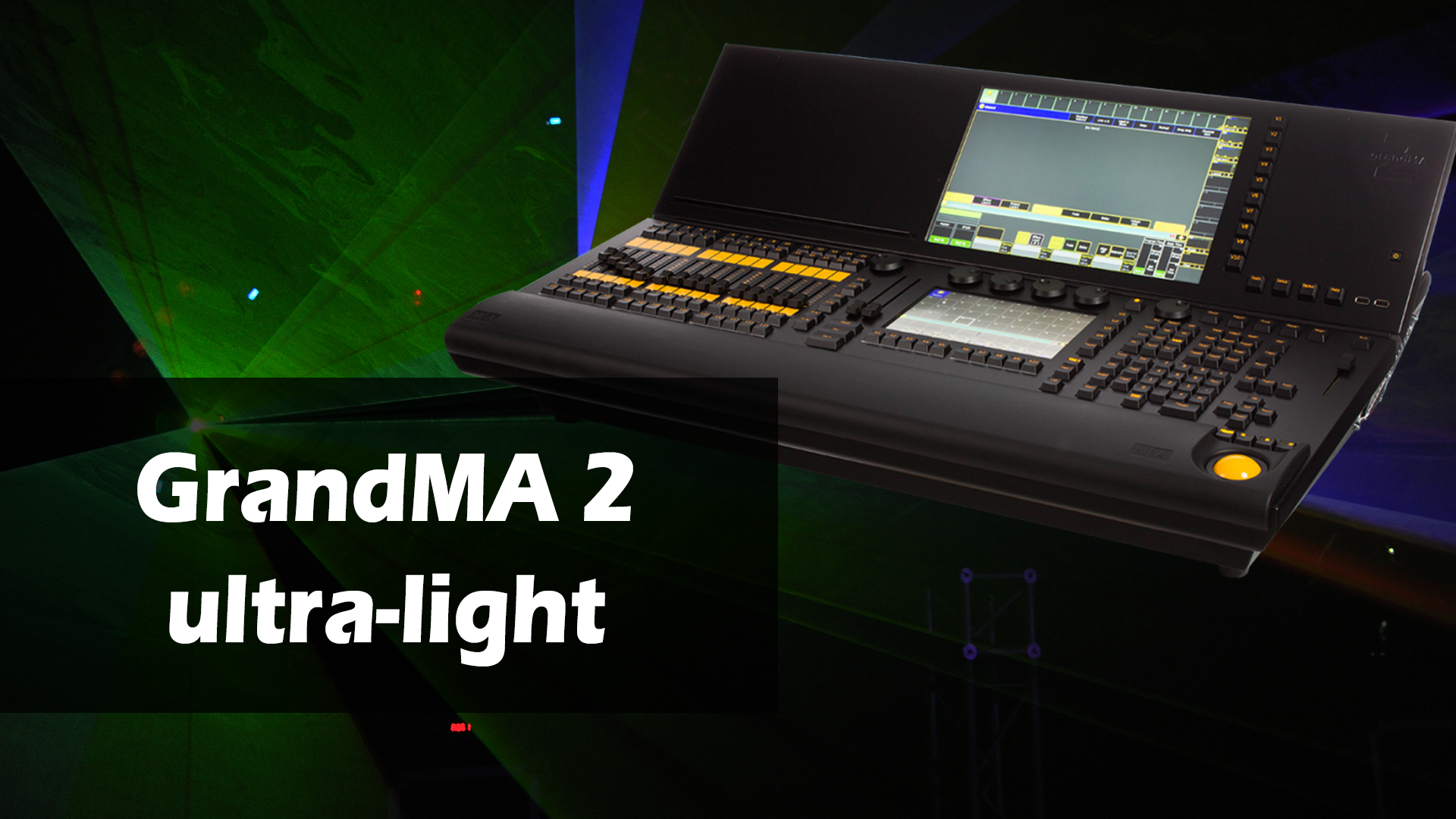 Investition in MA Lighting – grandMA2 ultra-light