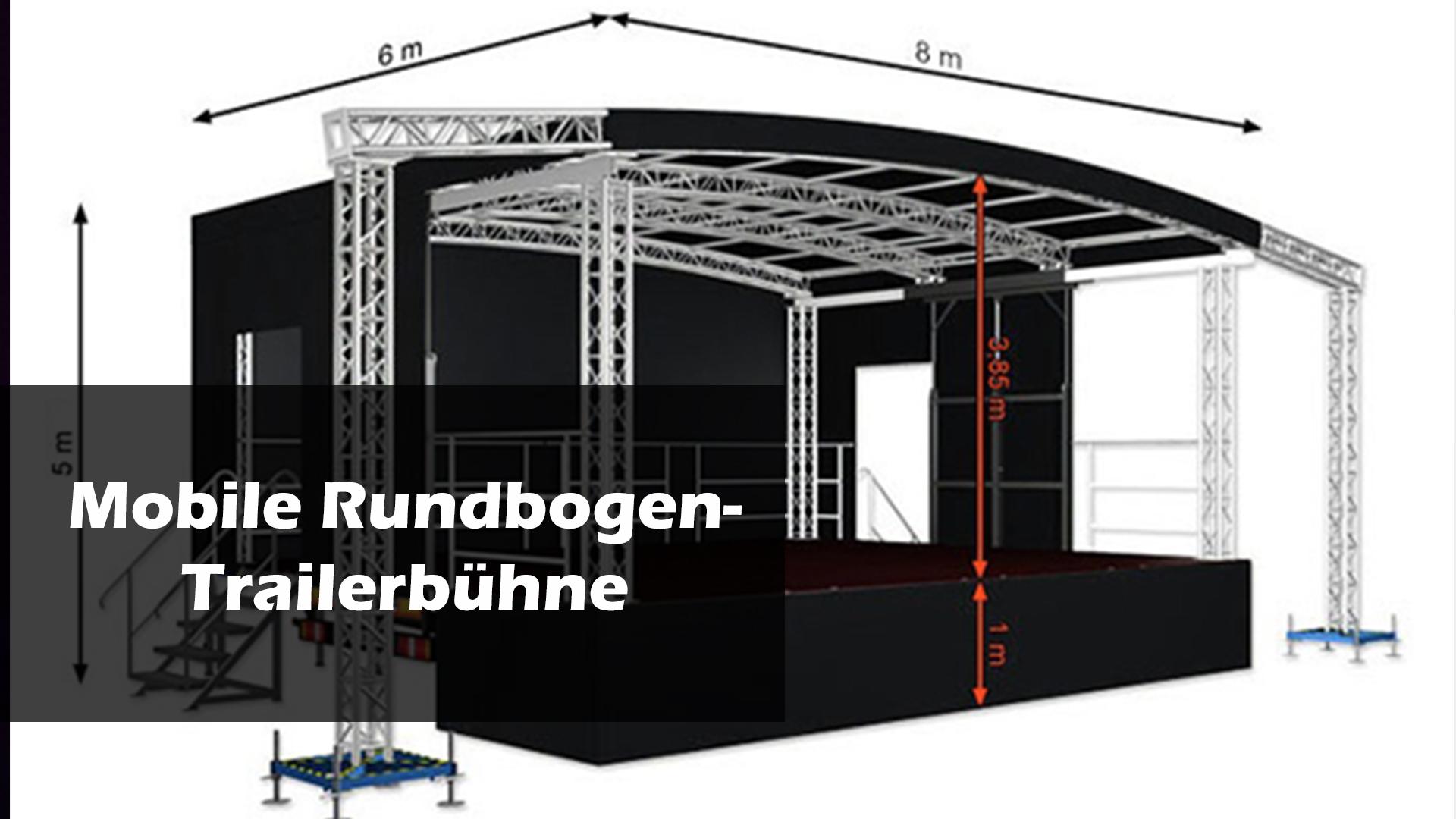 8 x 6m Bühne